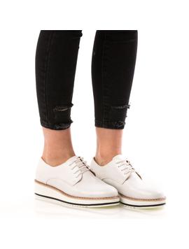 Pantofi Dama HotStep Alb-2