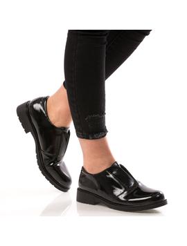 Pantofi Dama GlossyStep Negru DEP-2