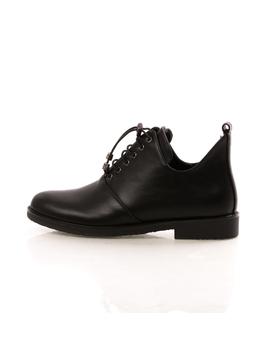 Pantofi Dama LongBack Negru DEP