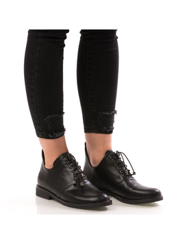 Pantofi Dama LongBack Negru DEP-2
