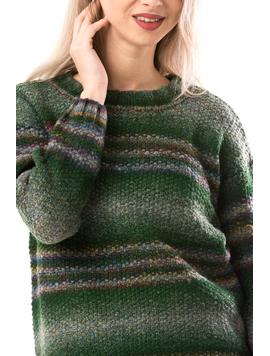 Pulover Dama Dakota Verde-2