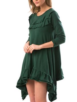 Rochie Dama CrazyAsymmetric Verde-2