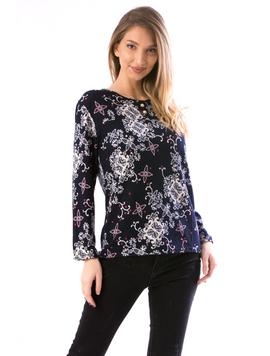 Bluza Dama Tty90 Bleumarin