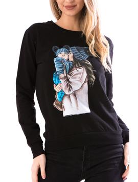 Bluza Dama WLve12 Negru-2