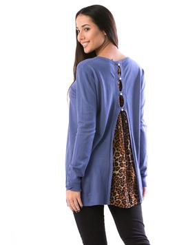 Bluza Dama BackVoal19 Albastru