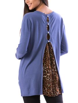 Bluza Dama BackVoal19 Albastru-2