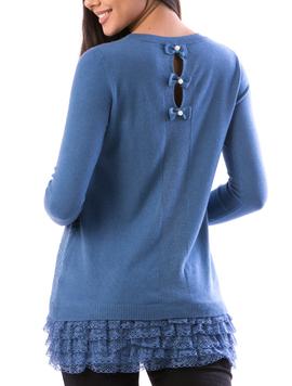 Bluza Dama StrsAnIty12 Albastru-2