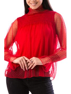 Bluza Dama Trenstty678 Rosu-2