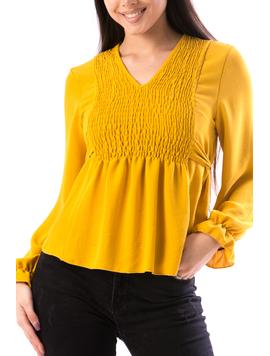 Bluza Dama BizzyTy456 Mustar-2