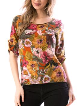 Bluza Dama CussyCrez67 Mustar-2