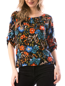 Bluza Dama GressyTy678 Negru-2