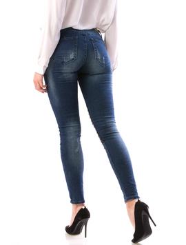 Jeans Dama MidleTh765 Bleumarin