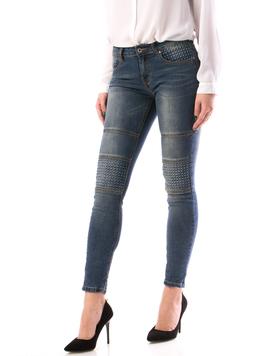 Jeans Dama MiddHg129 Bleumarin