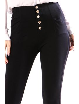 Jeans Dama Ty789 Negru-2