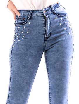 Jeans Dama Jestry767 Bleu-2