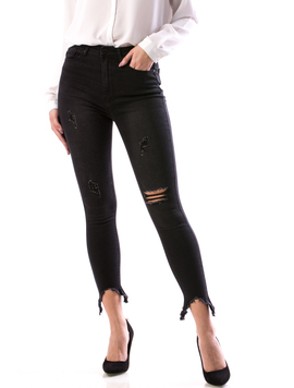 Jeans Dama Cshny675 Negru