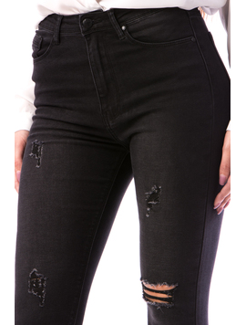 Jeans Dama Cshny675 Negru-2