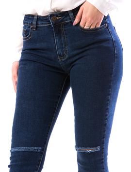 Jeans Dama Trm987 Bleumarin-2
