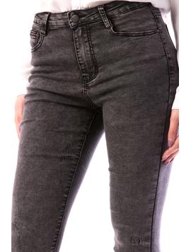Jeans Dama Ghjy678 Gri-2