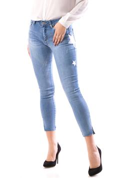 Jeans Dama StarsTo897 Bleu