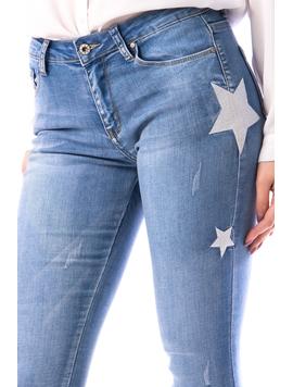 Jeans Dama StarsTo897 Bleu-2