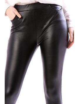 Pantaloni Dama Uty124 Negru-2
