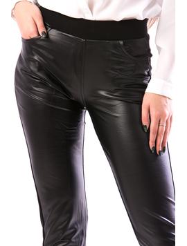 Pantaloni Dama SmplBlack786 Negru-2