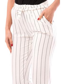 Pantaloni Dama SummerHero Alb Si Negru-2