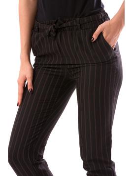 Pantaloni Dama SummerHero Negru Si Bej-2