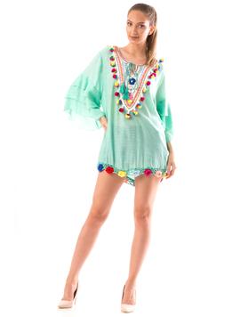 Bluza Dama BrodyMeaw10 Verde