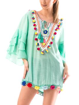 Bluza Dama BrodyMeaw10 Verde-2