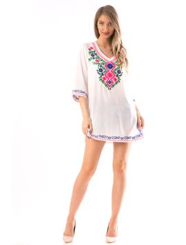 Bluza Dama CrzyYst70 Alb