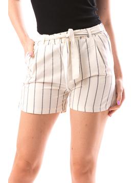 Pantaloni Scurti Dama JustLines Crem-2