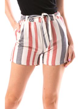 Pantaloni Scurti Dama JustLinesOne Crem-2