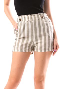 Pantaloni Scurti Dama JustAndLines Kaki-2