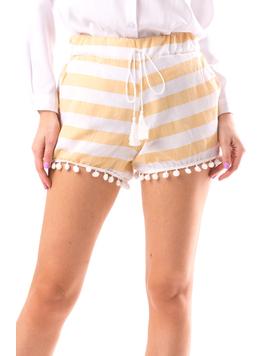 Pantaloni Scurti Dama Cycs12 Alb-2
