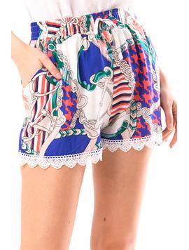 Pantaloni Scurti Dama Remsys12 Albastru-2