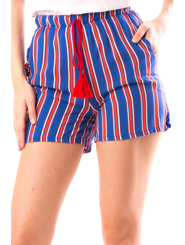 Pantaloni Scurti Dama Verto16 Albastru-2