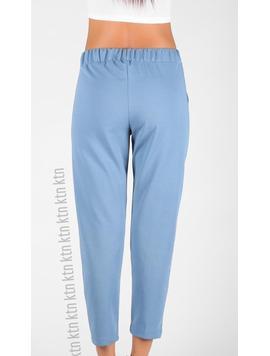 Pantaloni Dama LadyClarra Bleu-2