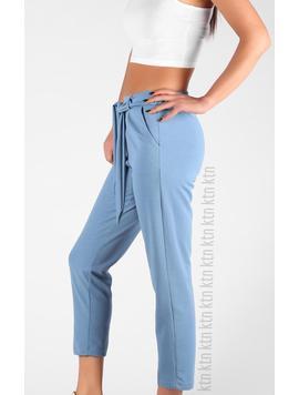 Pantaloni Dama LadyClarra Bleu