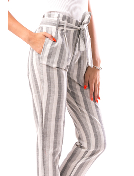 Pantaloni Dama SteqLinesOne Gri-2