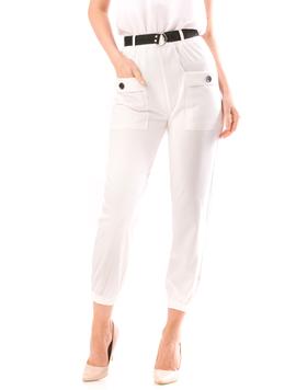 Pantaloni Dama ZeryOne Alb