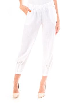 Pantaloni Dama Sym34 Alb