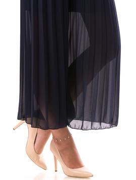 Pantaloni Dama Bygy19 Bleumarin-2