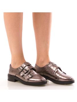 Pantofi Dama OxfordTwo Gri Dep