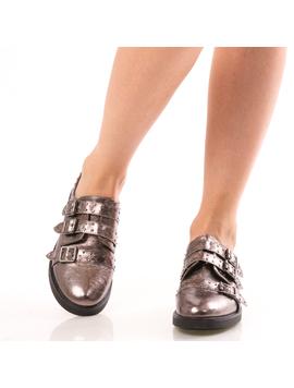 Pantofi Dama OxfordTwo Gri Dep-2
