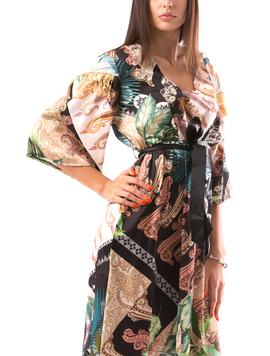 Rochie Dama PayetsShoul Negru-2