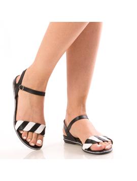 Sandale Dama BeWe12 Negru-2