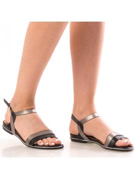Sandale Dama BeYe12 Negru-2