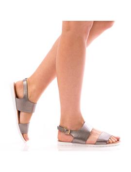 Sandale Dama SummerSonya Argintiu Dep-2